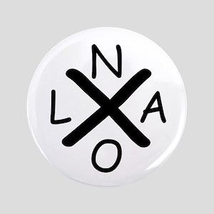 Hurrican Katrina X NOLA black font Button