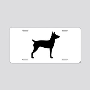 Rat Terrier Aluminum License Plate