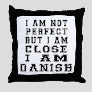 Dane or Danish Designs Throw Pillow
