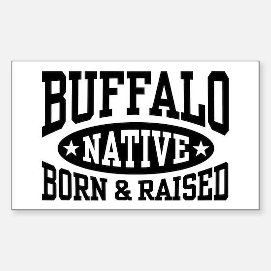 Buffalo Native Sticker (Rectangle)