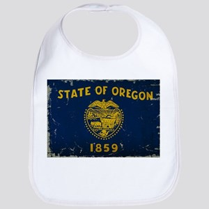Oregon State Flag VINTAGE Bib