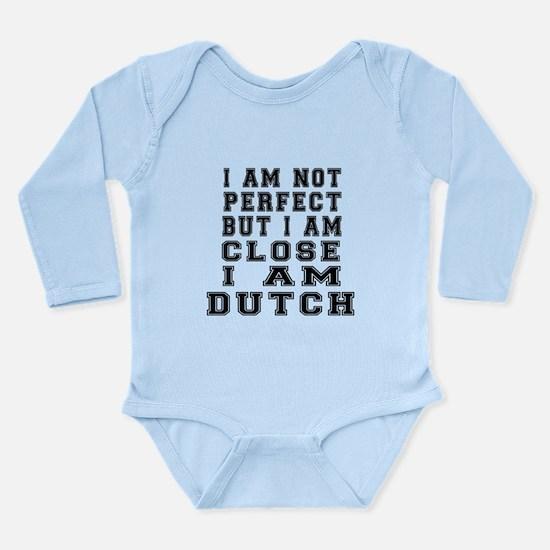 Dutch Designs Long Sleeve Infant Bodysuit
