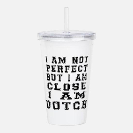 Dutch Designs Acrylic Double-wall Tumbler