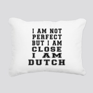 Dutch Designs Rectangular Canvas Pillow