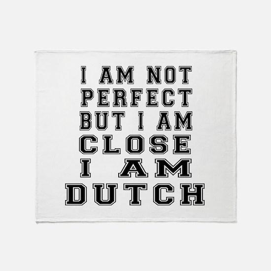 Dutch Designs Throw Blanket