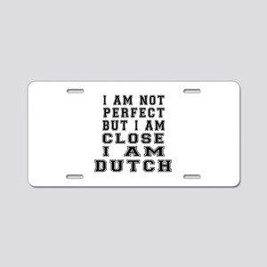 Dutch Designs Aluminum License Plate
