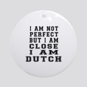 Dutch Designs Round Ornament