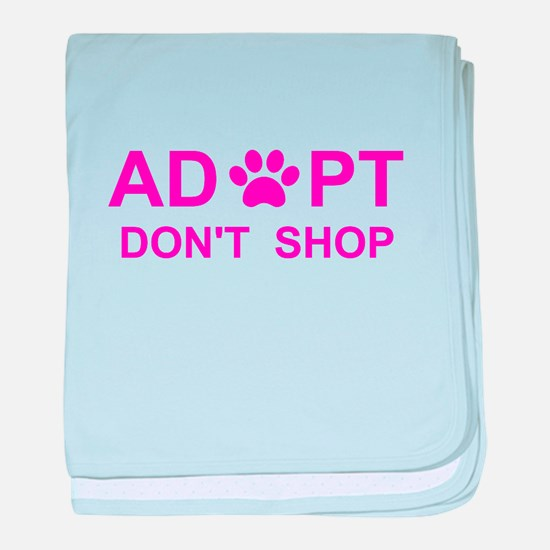 Unique Adopt shelter dog baby blanket