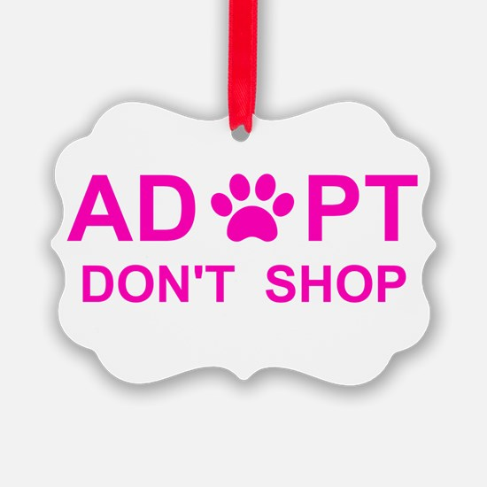 Cute Animal adoption Ornament