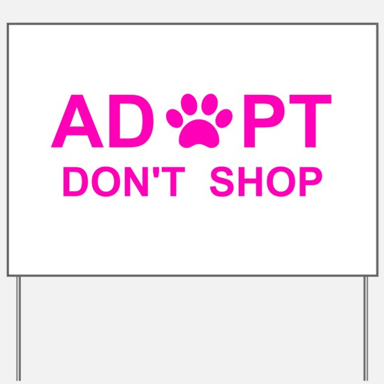Cute National mill dog rescue Yard Sign