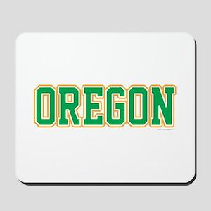Oregon Jersey Green Mousepad