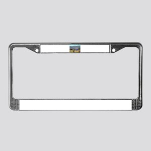 El Camino sign, Spain (caption License Plate Frame