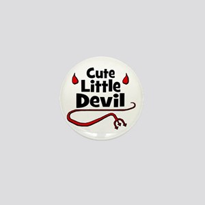 Cute Little Devil Mini Button