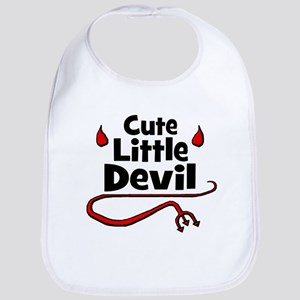 Cute Little Devil Bib