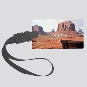 John Ford's Point, Monument Vall Large Luggage Tag