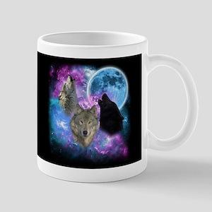 Wolves Mystical Night Mugs
