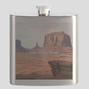 John Ford's Point, Monument Valley, Utah (ca Flask
