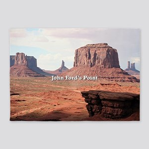 John Ford's Point, Monument Valley, 5'x7'Area Rug