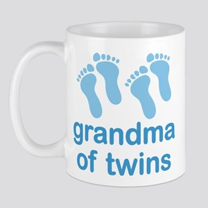 Grandma Of Twin Boys Mugs