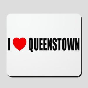 I Love Queenstown, New Zealan Mousepad