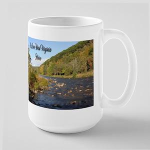 I Love West Virginia More Large Mug Mugs