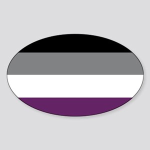Asexuality Flag Sticker