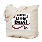 Daddy's Little Devil Tote Bag