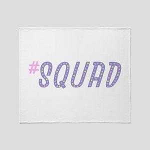 #Squad Throw Blanket