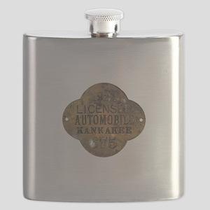 1921 Licensed Automobile Flask