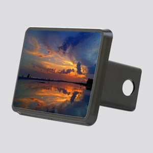 Siesta Key Sunset Rectangular Hitch Cover