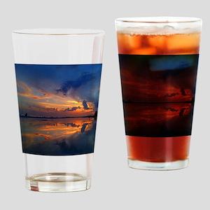 Siesta Key Sunset Drinking Glass