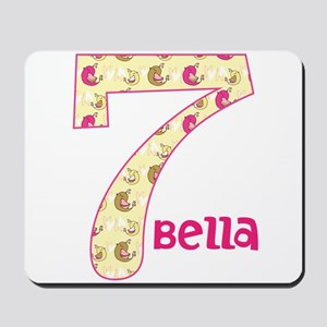 7th Birthday Pesonalized Mousepad