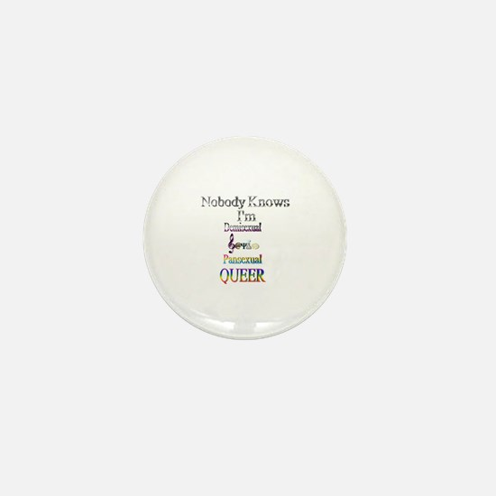 Funny Pansexual Mini Button
