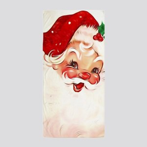 Vintage Santa 4 Beach Towel