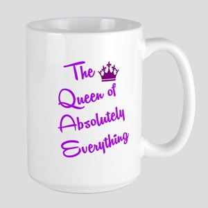 THE QUEEN OF ABSOLUTELY EVERYTHING Mugs