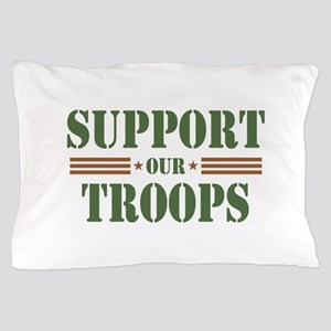 Support Our Troops Pillow Case