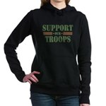 Support Our Troops Women's Hooded Sweatshirt