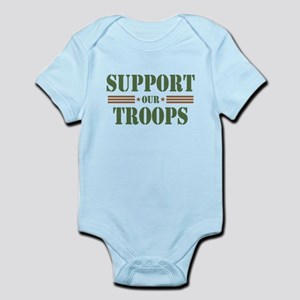 Support Our Troops Body Suit
