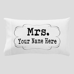 Wedding Mrs. Pillow Case
