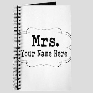 Wedding Mrs. Journal