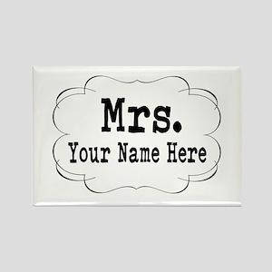 Wedding Mrs. Magnets