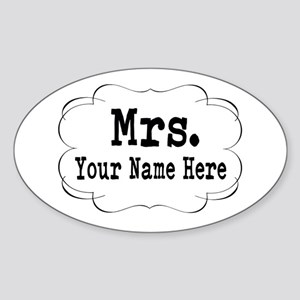 Wedding Mrs. Sticker