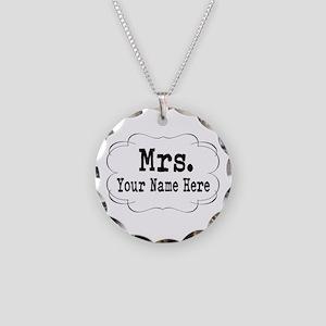 Wedding Mrs. Necklace