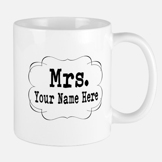 Wedding Mrs. Mugs