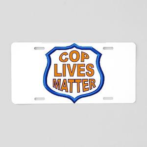 COP LIVES MATTER Aluminum License Plate