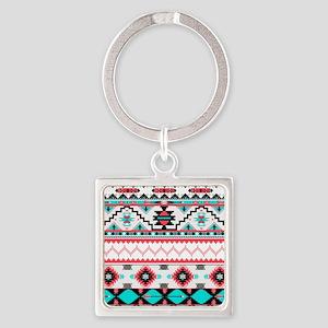 Aztec Pattern Keychains