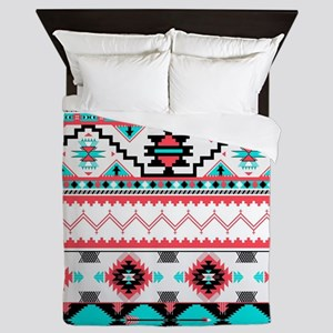 Aztec Pattern Queen Duvet