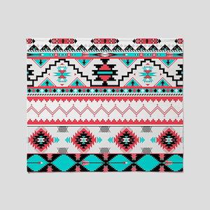 Aztec Pattern Throw Blanket