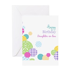 Daughter Law Birthday Greeting Cards