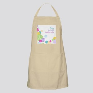 Happy Birthday Daughter in Law Apron